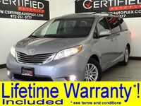Toyota Sienna V6 BLIND SPOT ASSIST SUNROOF LEATHER HEATED SEATS REAR CAMERA REAR A/C 2016