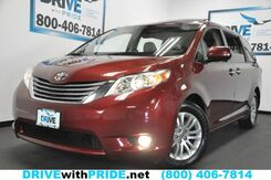 2016_Toyota_Sienna_XLE 8 PASS 56K 1 OWN NAV REAR CAM SENSORS KEYLESS GO PWR DOORS HTD STS_ Houston TX