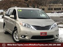 2016 Toyota Sienna XLE White River Junction VT