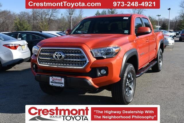 2016 Toyota Tacoma 2016 Toyota Tacoma Double Cab TRD Off Road 4x4 V6 AT Pompton Plains NJ