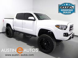 2016_Toyota_Tacoma 4WD Double Cab SR5_*BACKUP-CAMERA, TOUCH SCREEN, LIFT KIT, BLACK ALLOY WHEELS, OVERSIZED TIRES, BLUETOOTH PONE & AUDIO_ Round Rock TX