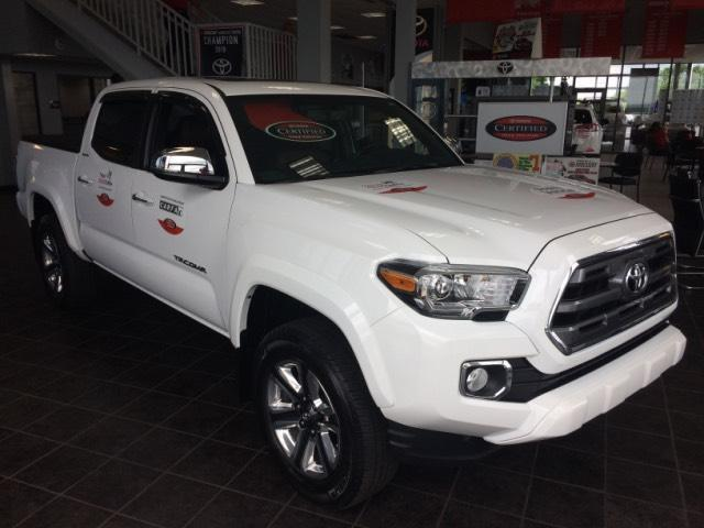 2016 Toyota Tacoma 4WD Double Cab V6 AT Limited Richmond KY
