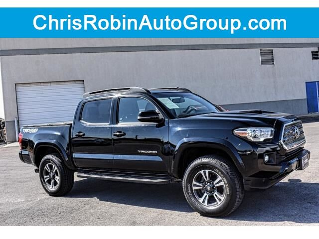 2016 Toyota Tacoma 4WD Double Cab V6 AT TRD Sport Midland TX