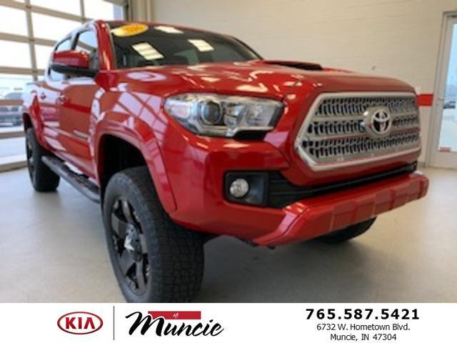 2016 Toyota Tacoma 4WD Double Cab V6 AT TRD Sport Muncie IN