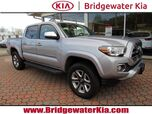 2016 Toyota Tacoma Limited Double Cab 4WD, Navigation, Rear-View Camera, Touch-Screen Audio, Bluetooth Technology, Heated Leather Seats, Power Sunroof, HID Headlights, 18-Inch Alloy Wheels,