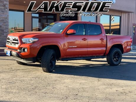 2016 Toyota Tacoma SR5 Double Cab Long Bed V6 6AT 4WD Colorado Springs CO