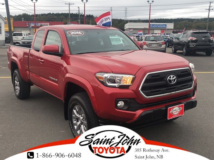 2016 Toyota Tacoma SR5 V6 CHEAP TACO!! VALUE MEAL! Saint John NB