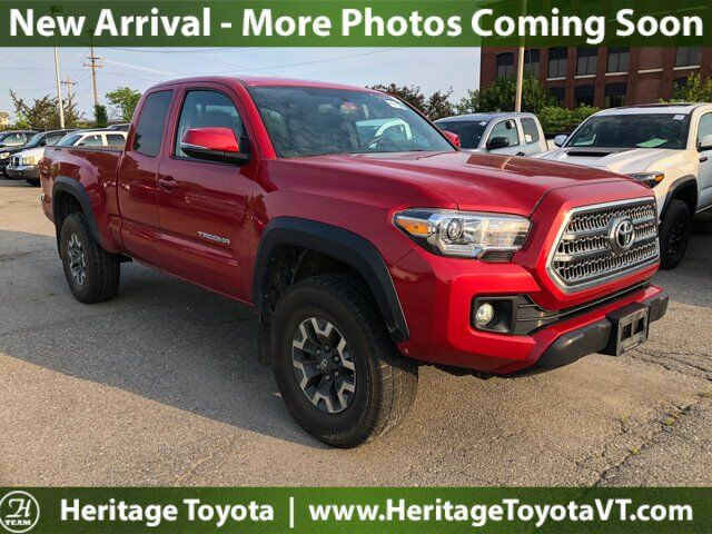 2016 Toyota Tacoma TRD Off-Road 4WD Access Cab V6 AT South Burlington VT