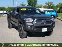 2016 Toyota Tacoma TRD Off-Road 4WD Double Cab V6 MT South Burlington VT