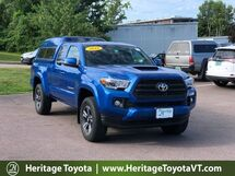 2016 Toyota Tacoma TRD Sport 4WD Access Cab V6 MT South Burlington VT