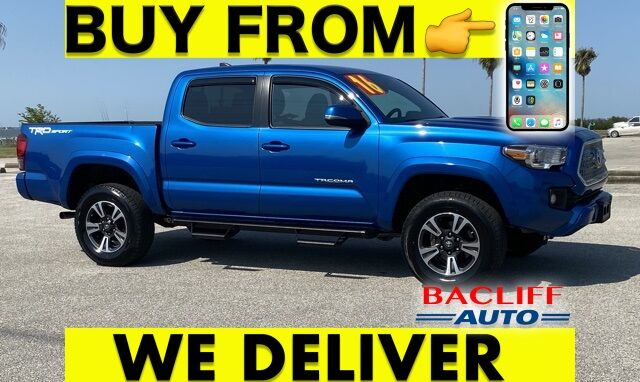 2016 Toyota Tacoma TRD Sport Bacliff TX