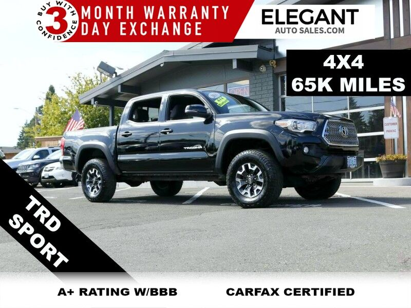 2016 Toyota Tacoma TRD Sport ONE OWNER 4X4 SUPER CLEAN 4WD TRUCK