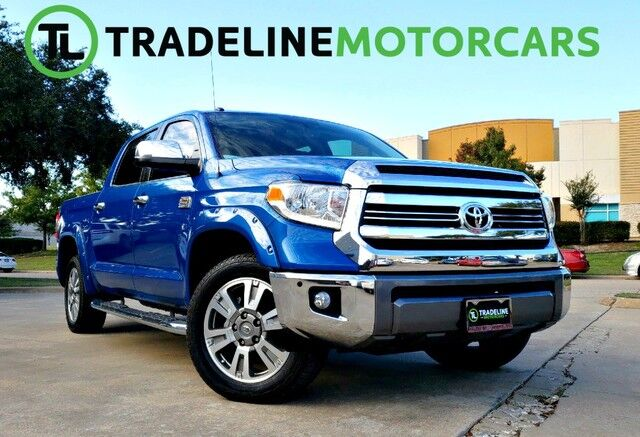 2016 Toyota Tundra 4WD Truck 1794 SUNROOF, LEATHER, BLUETOOTH, AND MUCH MORE!!! CARROLLTON TX