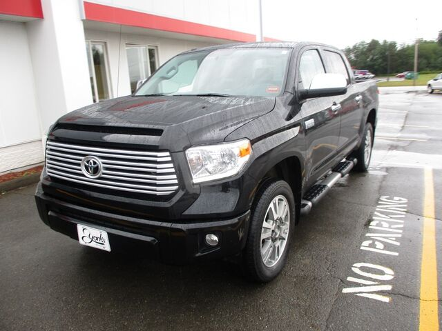2016 Toyota Tundra 4WD Truck Platinum Houlton ME