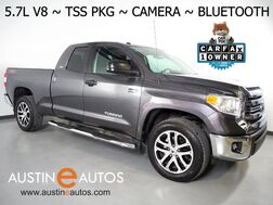 2016_Toyota_Tundra Double Cab 5.7L V8 2WD SR5_*TSS SPORT PKG, BACKUP-CAMERA, TOUCH SCREEN, STEERING WHEEL CONTROLS, CRUISE, ALLOY WHEELS, RUNNING BOARDS, TOW PKG, BLUETOOTH PHONE & AUDIO_ Round Rock TX