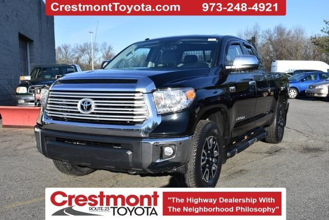 2016 Toyota Tundra Double Cab Limited 4x4 V8 AT Pompton Plains NJ