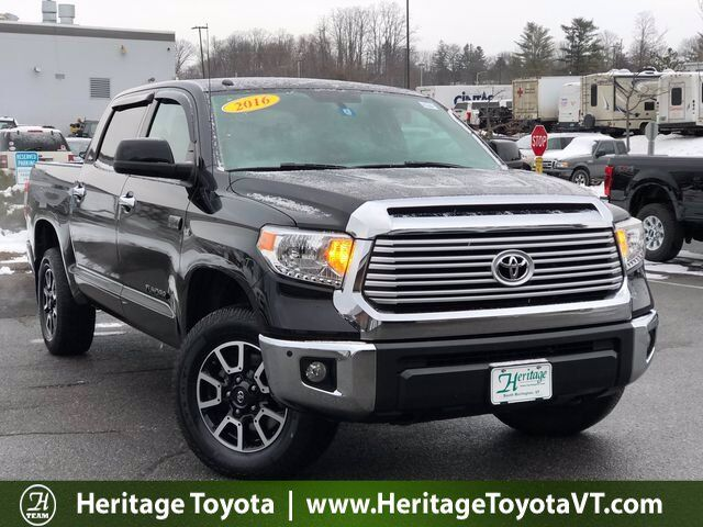2016 Toyota Tundra Limited CrewMax 5.7L V8 6-Spd AT South Burlington VT
