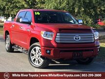 2016 Toyota Tundra Platinum White River Junction VT