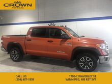 2016_Toyota_Tundra_SR5 TRD Crewmax **Sunroof** Spray In Boxliner** No Accidents**_ Winnipeg MB