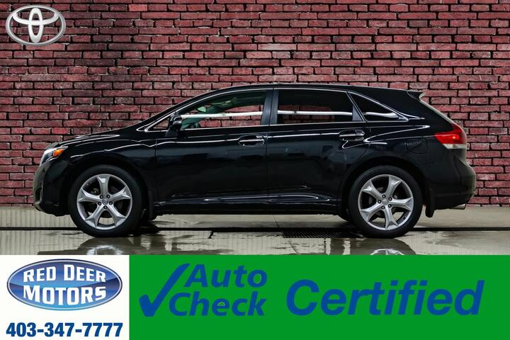 2016 Toyota Venza AWD Limited Leather Roof Nav BCam Red Deer AB