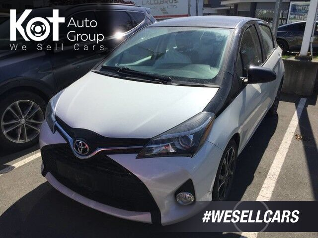 2016 Toyota Yaris LE! GREAT ON GAS! HATCHBACK! MANUAL! Victoria BC
