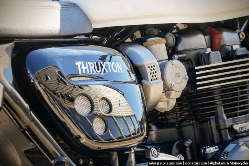 2016 Triumph Thruxton 1200 Boxborough MA