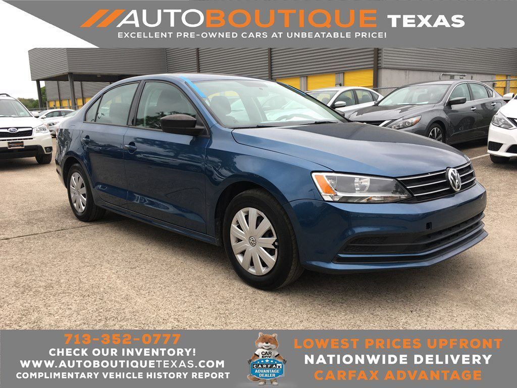 2016 VOLKSWAGEN JETTA 1.4T S S Houston TX