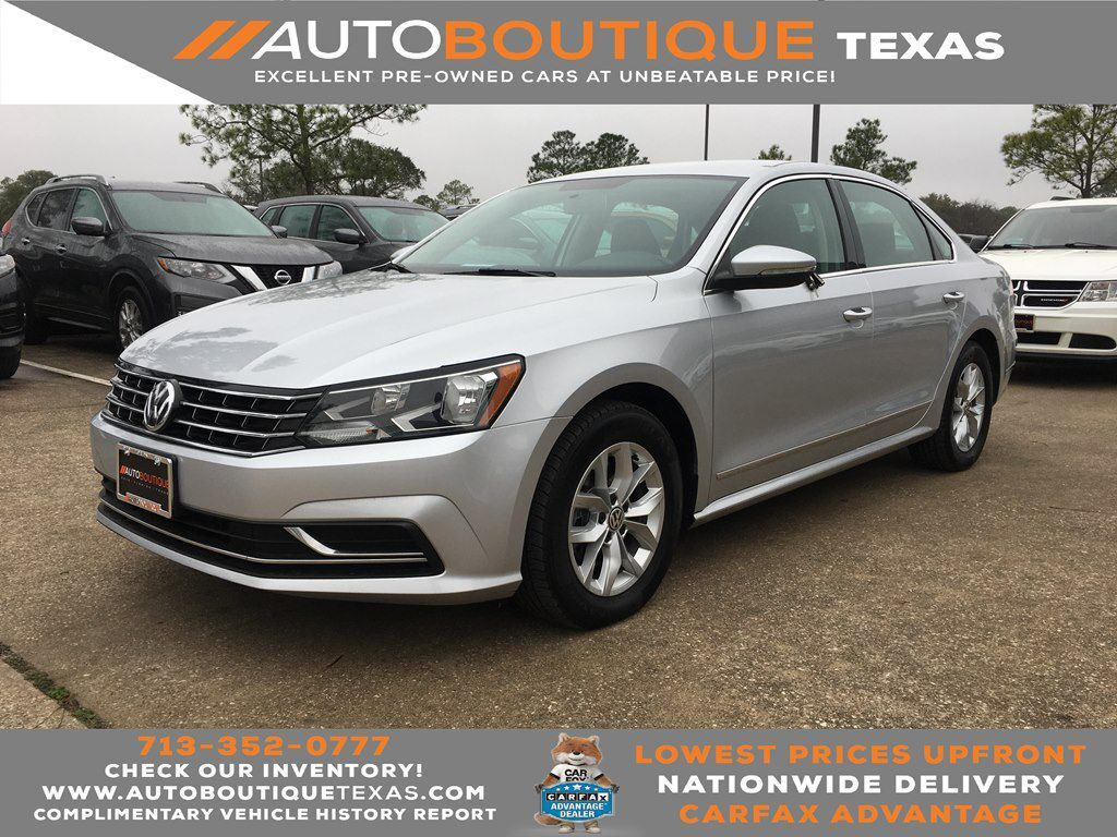 2016 VOLKSWAGEN PASSAT S S Houston TX