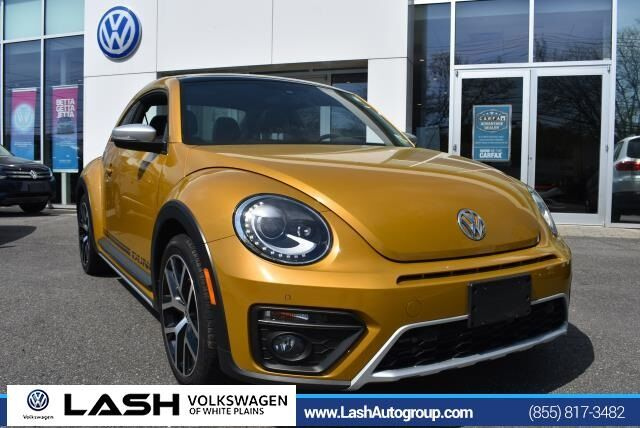 2016 Volkswagen Beetle 1.8T Dune White Plains NY
