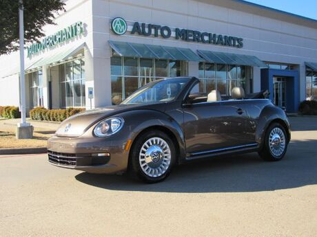 2016 Volkswagen Beetle 1.8T PZEV Convertible  TURBOCHARGED, AUTOMATIC, LEATHER SEATS, BLUETOOTH CONNECTIVITY Plano TX