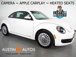 2016_Volkswagen_Beetle Coupe 1.8T SE_*BACKUP-CAMERA, TOUCH SCREEN, HEATED FRONT SEATS, STEERING WHEEL CONTROLS, ALLOY WHEELS, BLUETOOTH, APPLE CARPLAY_ Round Rock TX