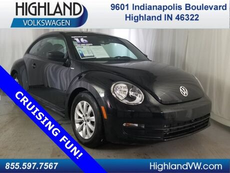 2016 Volkswagen Beetle Coupe 1.8T Wolfsburg Edition Highland IN