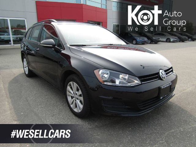2016 Volkswagen GOLF SPORTWAGON COMFORTLINE! CHEAPEST ONE IN BC! 4 BRAND NEW TIRES! BACKUP CAM! TONS OF CARGO SPACE! Kelowna BC