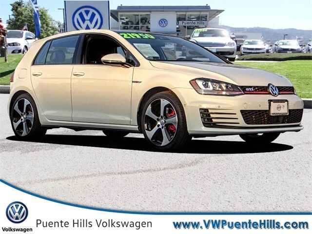 2016 Volkswagen Golf GTI Autobahn City of Industry CA