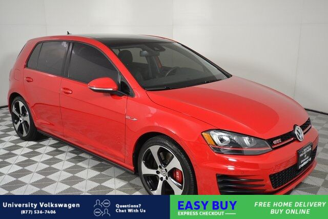 2016 Volkswagen Golf GTI Autobahn Seattle WA