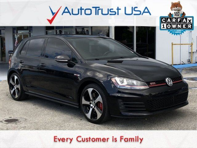 2016 Volkswagen Golf GTI Autobahn w/Performance Package Miami FL