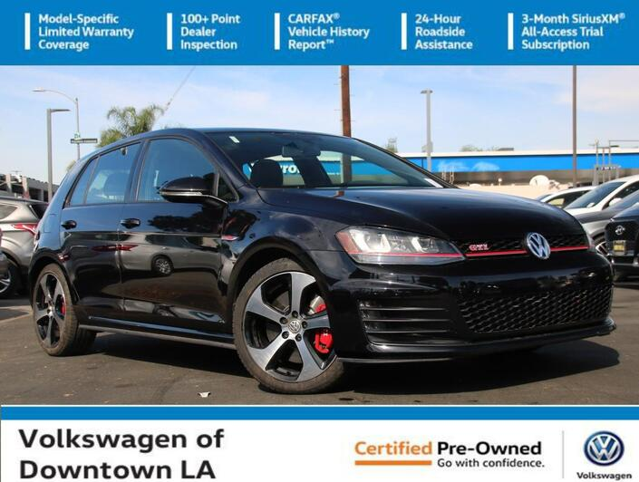 2016 Volkswagen Golf GTI Autobahn w/Performance Pkg Los Angeles CA
