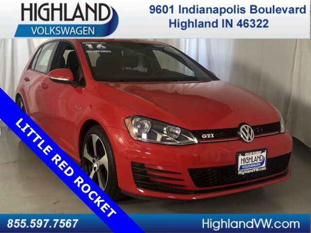2016 Volkswagen Golf GTI S Highland IN