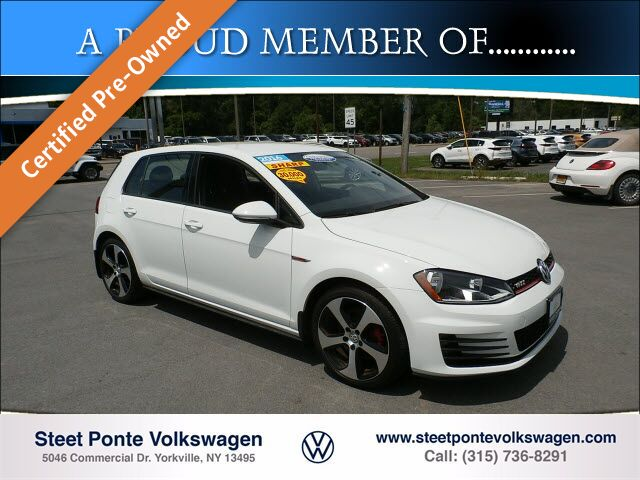 2016 Volkswagen Golf GTI S Yorkville NY