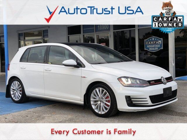 2016 Volkswagen Golf GTI S w/Performance Package Miami FL