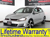 Volkswagen Golf GTI SE DRIVER ASSIST PKG LIGHTING PKG SUNROOF BLIND SPOT ASSIST ADAPTIVE CRUISE 2016