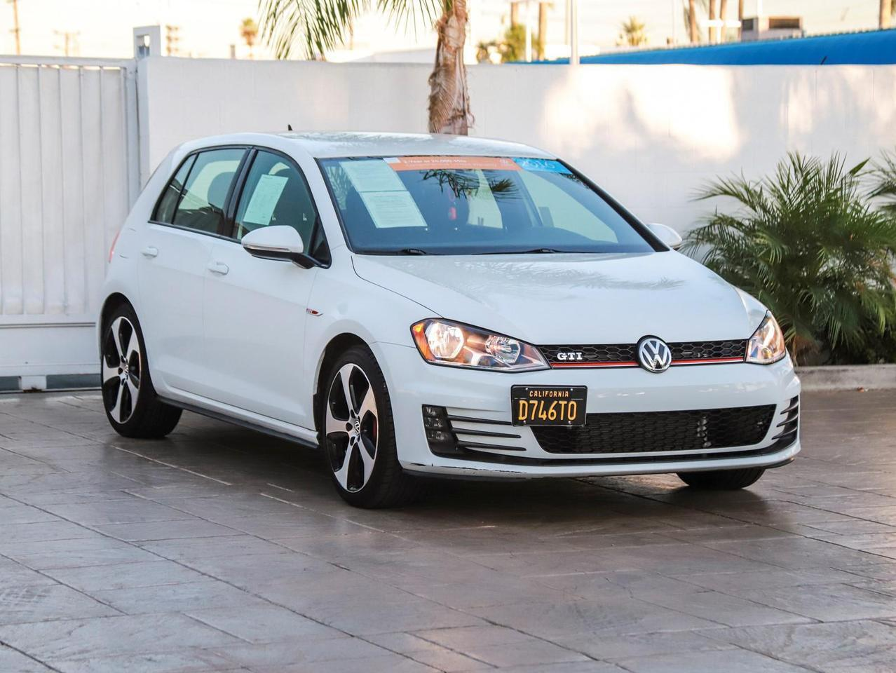 2016 Volkswagen Golf Gti S North Hills CA