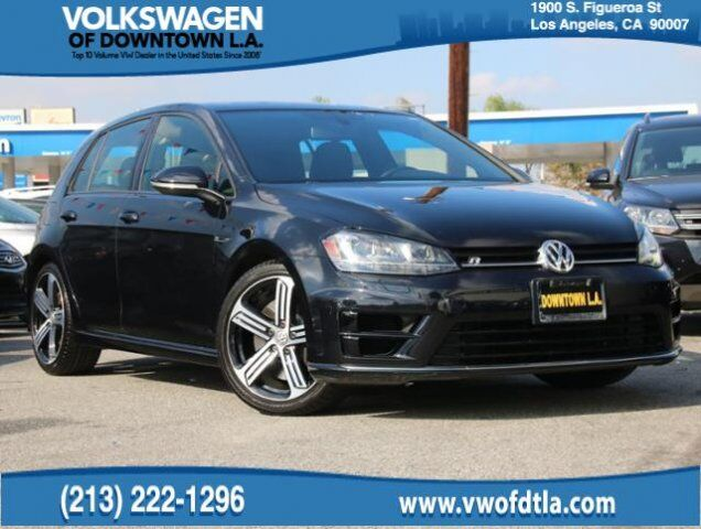 2016 Volkswagen Golf R 4MOTION Los Angeles CA