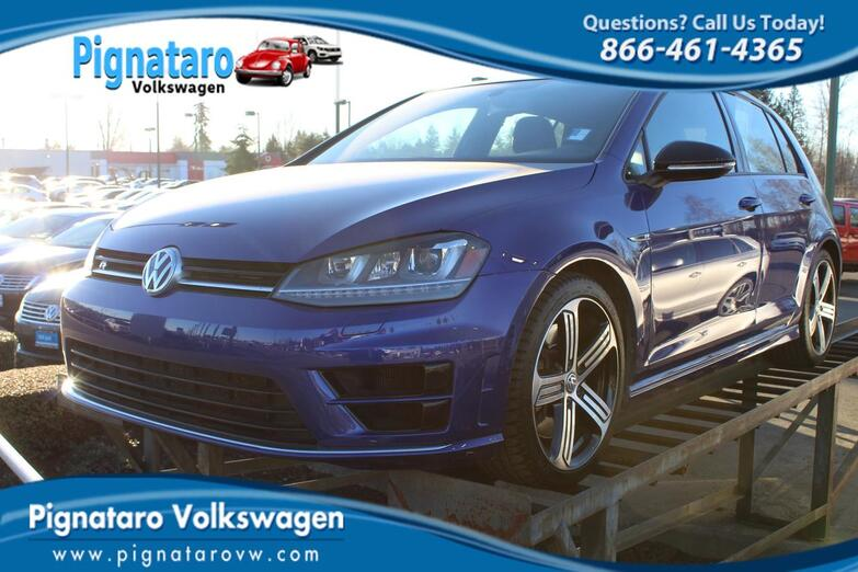 2016 Volkswagen Golf R Base Everett WA