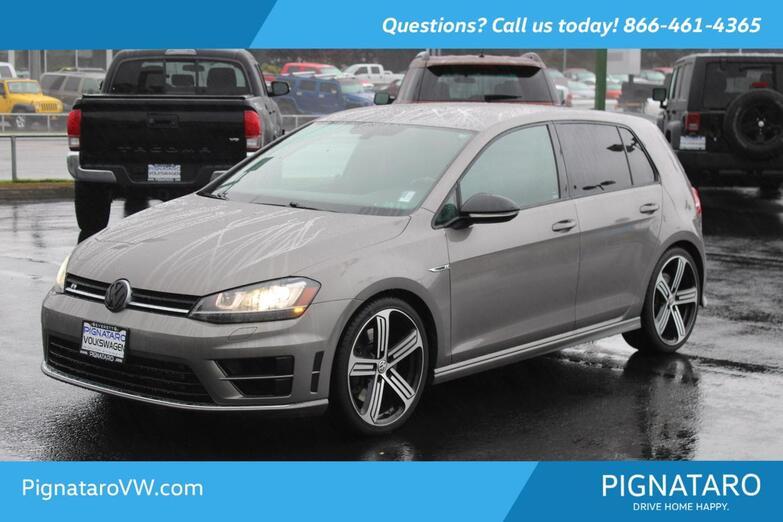 2016 Volkswagen Golf R DCC & Navigation 4Motion Everett WA