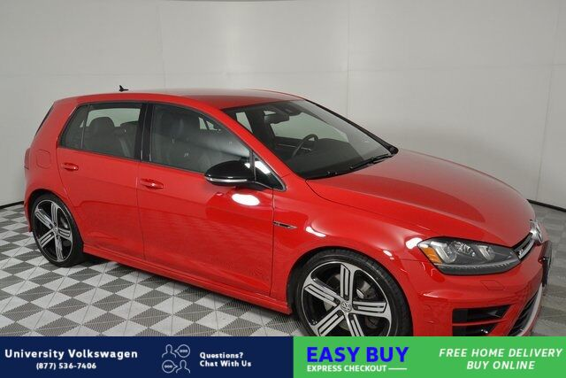 2016 Volkswagen Golf R DCC & Navigation 4Motion Seattle WA