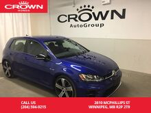2016_Volkswagen_Golf R_DSG /AWD/LOW KM/NAVIGATION/LEATHER/HEATED SEATS/_ Winnipeg MB