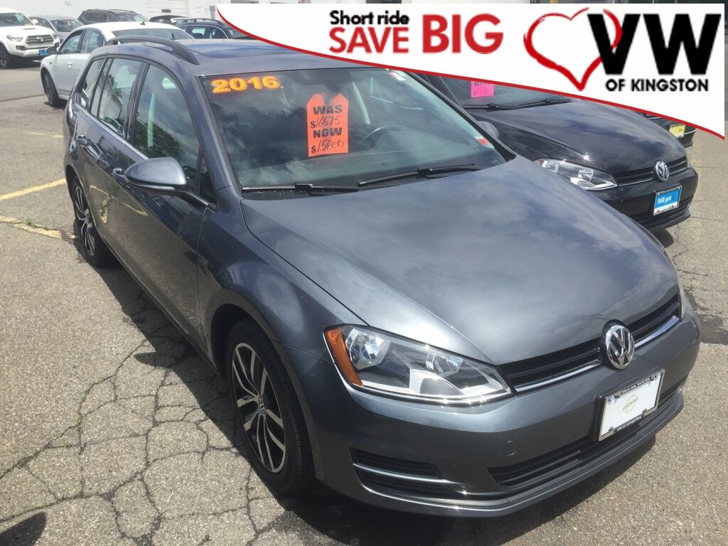 2016_Volkswagen_Golf SportWagen_TSI Limited Edition_ Kingston NY