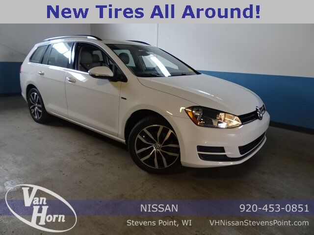 2016 Volkswagen Golf SportWagen TSI Limited Edition Plymouth WI