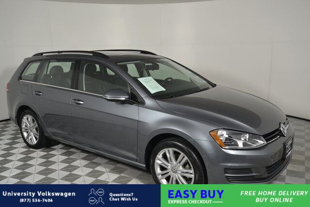 2016 Volkswagen Golf SportWagen TSI Limited Edition Seattle WA